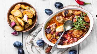 Az egyik legfinomabb nyári ragu kacsahússal és szilvával készül