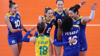 A brazilok megmutatták, hogyan kell csapatként nyerni