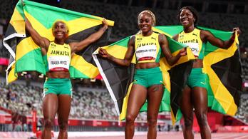 Teljes jamaicai sikert hozott a női 100 méteres síkfutás
