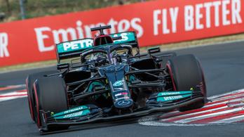 A Mercedesé az első sor, Hamilton-pole a Hungaroringen