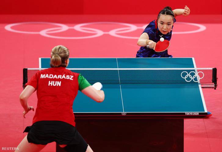 Madarász Dóra és Mima Ito