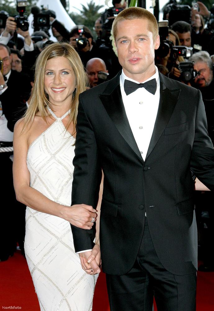 Brad Pitt azonban nem csak a második feleségéhez, hanem az elsőhöz, Jennifer Anistonhoz is hasonult