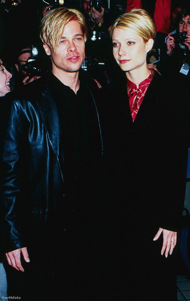Pitt 1994-ben kezdett el randizni Gwyneth Paltrow-val, 1996-ban el is jegyezték egymást