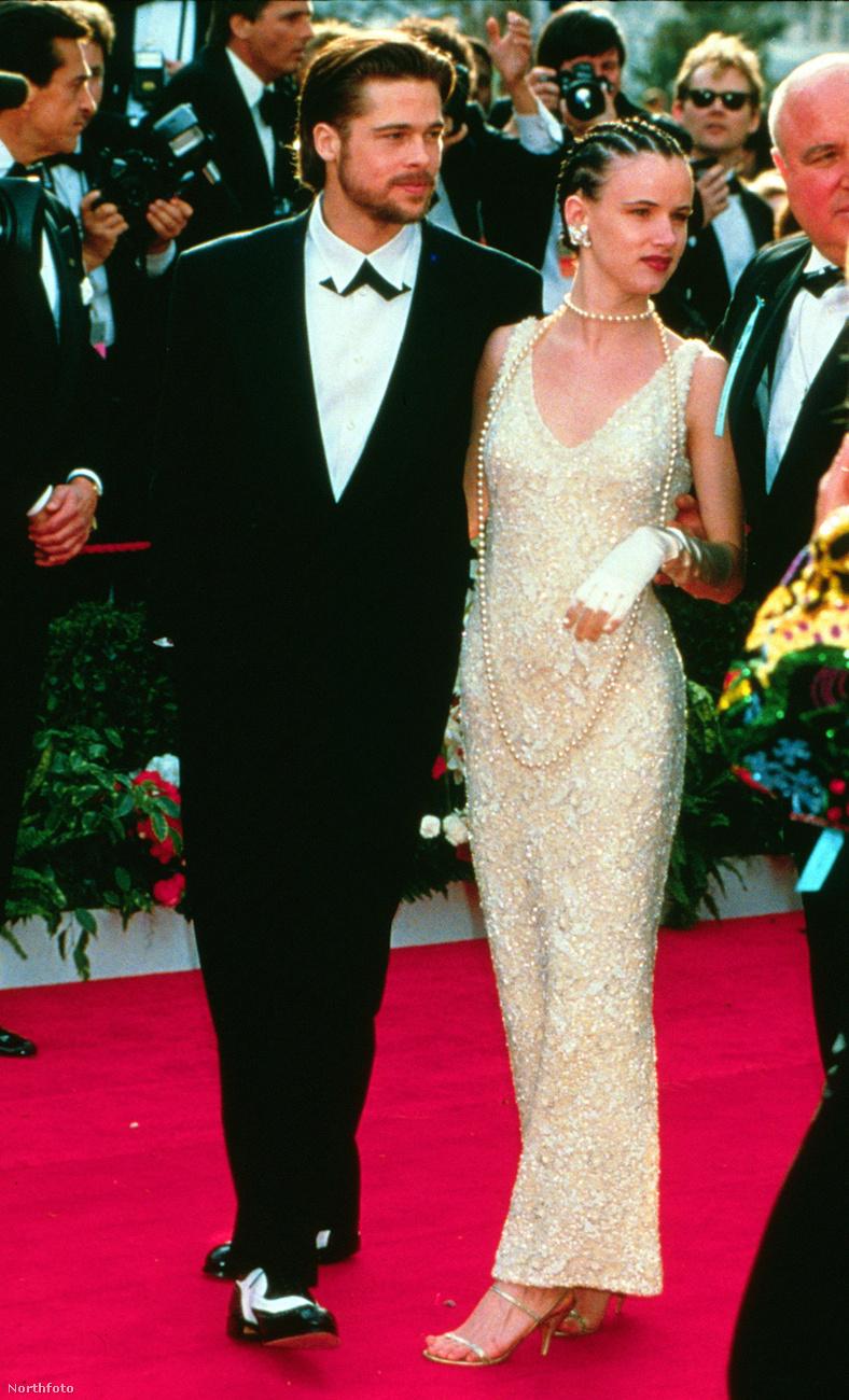 A színész Juliette Lewis-szal is együtt járt, ez a kép az 1992-es Oscar-gálán készült róluk