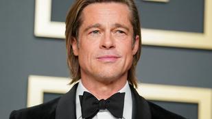 Miért hasonlít Brad Pitt kísértetiesen az aktuális szerelméhez?