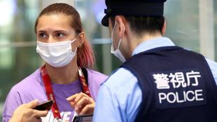 Fél hazamenni az olimpiáról a belarusz sportoló, rendőri védelmet kért