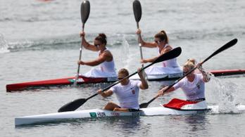 Kozák Danutáék futamgyőzelemmel kezdtek az olimpián