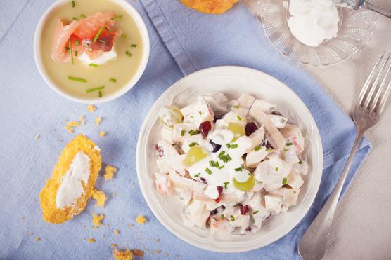 Szőlő-csirkemell ragu lime-mal – tökéletes, könnyű nyári vacsora