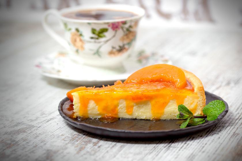 sárgabarackos sajttorta recept ok