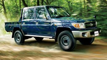 A Toyota tovább reszeli az ősi Land Cruiser 70-est
