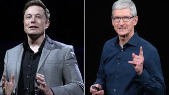 Az Apple-vezér tényleg elküldte Elon Muskot a francba?