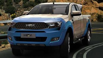 Ford Rangerből készít hidrogén-autót a H2X