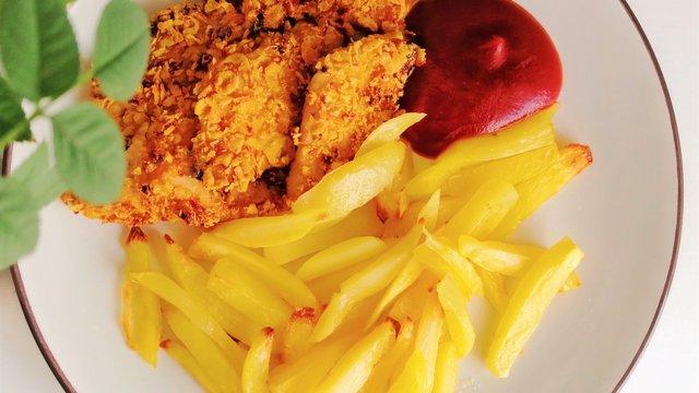 """Házi, diétás """"KFC menü"""""""