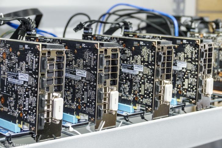 Bitcoinbányász hardver