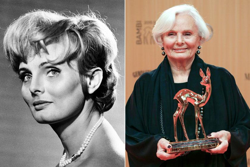A bal oldali kép 1966-ban, a jobb oldali 2015-ben készült róla.