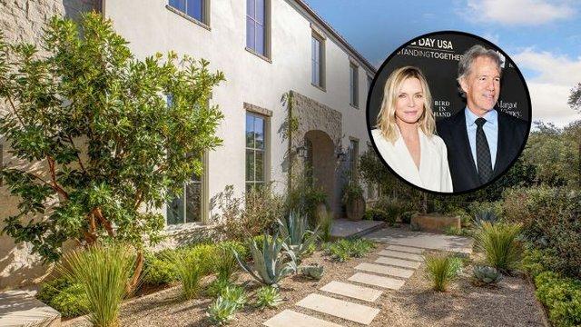 Michelle Pfeiffer és David E. Kelley árulják az otthonukat!