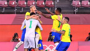 Brazília tizenegyesekkel a focidöntőben