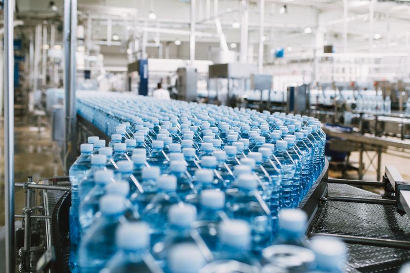 ásványvíz palack