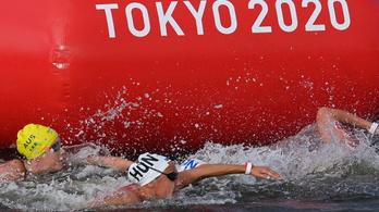 Olasz Anna óriásit úszott, épphogy lemaradt a dobogóról