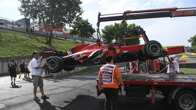 F1: Elkerülhetetlen, büntetés vár Leclerc-re