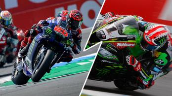 Ennyivel gyorsabb a MotoGP mint a Superbike