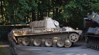 Sokba került Párduc tankot tartani a pincében