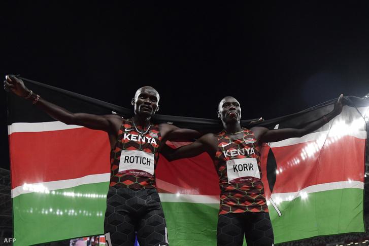 Ferguson Rotich és Emmanuel Korir
