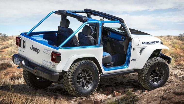 A Jeep is villanyautót készítene, már két év múlva