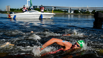 Rasovszky Kristóf ezüstérmes lett nyílt vízi úszásban