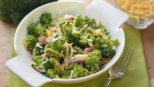 Ez a legfinomabb nyári brokkolisaláta