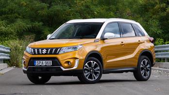 Megvolt: Suzuki Vitara 1.4 Hybrid 6AT (2021)