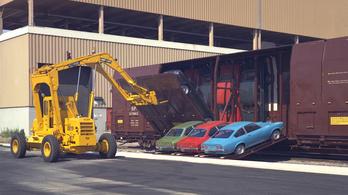 Vert-a-Pac: autószállítás függőlegesen