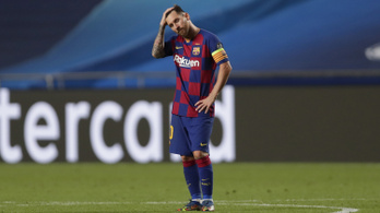 Lionel Messi távozik a Barcelonától