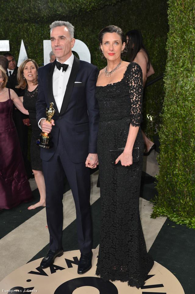 Daniel Day-Lewis és felesége, Rebecca Miller