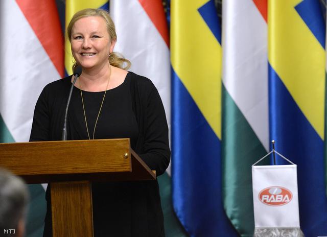 Ewa Björling svéd kereskedelmi miniszter