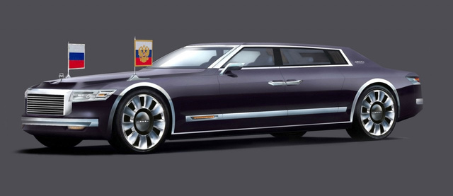 Totalcar - Magazin - Orosz luxusautók az orosz elnöknek f13d2f88d4