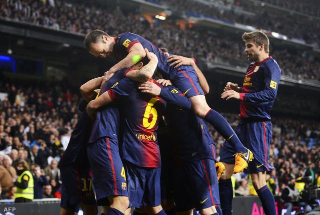 A Barcelona első gólja