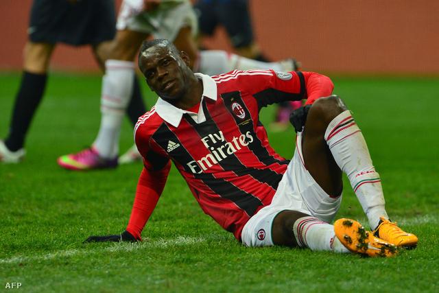 Balotelli a vasárnapi meccsen