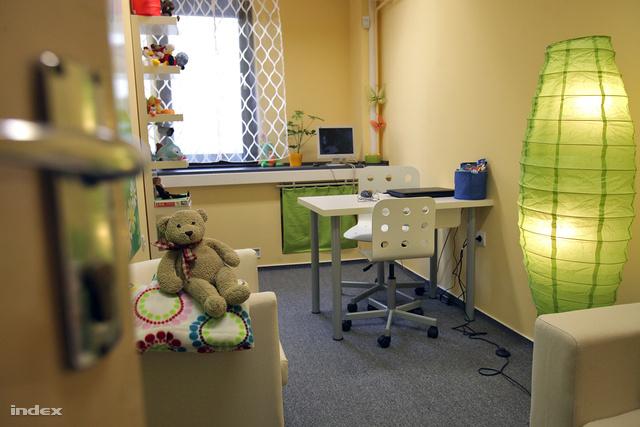 Gyermekbarát meghallgatószoba