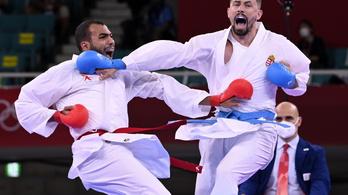 Karatebravúr: Hárspataki Gábor olimpiai bronzérmes