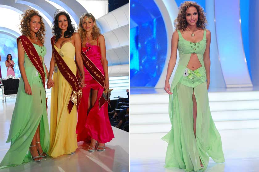 Dammak Jázmin 2008-ban az RTL Klub A Királynő című műsorában nyerte el a Miss Universe Hungary címet.