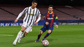 Cristiano Ronaldo Olaszországba csábítja Lionel Messit