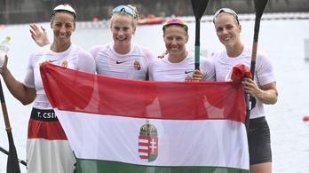 Olimpiai bajnok a női kajak négyes, bronzérmes a női pólócsapat