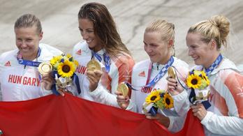 Élje át ismét, így nyert olimpiát a magyar női kajak négyes!