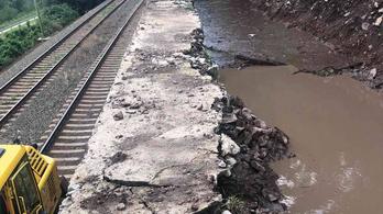 Jövő héten Nagymaros és Szob között ideiglenes menetrend szerint közlekednek a vonatok