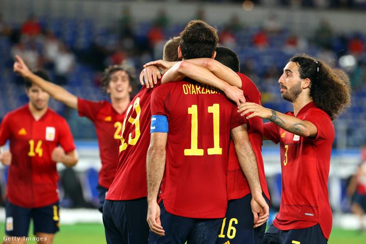 Oyarzabal góljával egyenlítettek a spanyolok