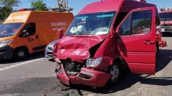 12 autó ütközött az M7-esen