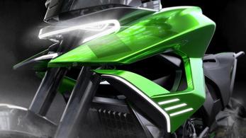 Adaptive: ebből lesz a jövő túra-Kawasakija?