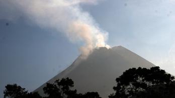 Újra kitört a Merapi az indonéz vulkán