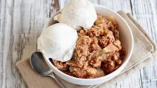Isteni desszert, amit nyári almából is összedobhatsz: almás-fahéjas morzsasüti